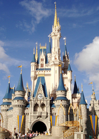 Disney's magic kingdom rental car