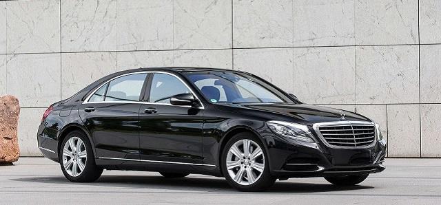 Mercedes S-Series chauffeur services