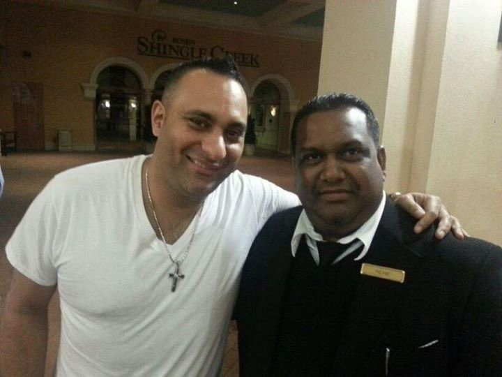 OrlandoLimoCars - Chauffeur with comedian Russell Peters