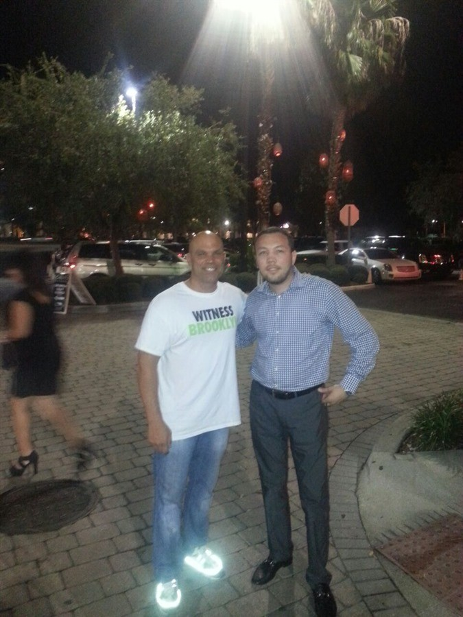 OrlandoLimoCars - Operations Director with Rocco's Mangel owner of the famous Rocco's Tacos