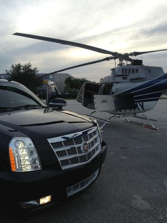 OrlandoLimoCars - On site at a private airport